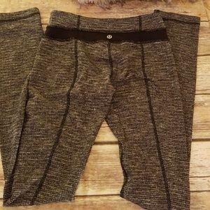 Lululemon tweedy leggings (long)